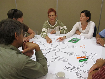 Facilitating wetland planning process