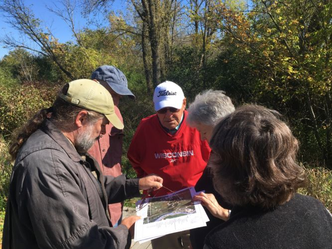 Working with landowners in wetlands