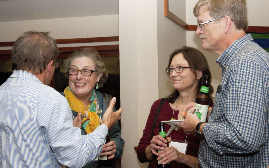 WWA members enjoy socializing during a previous annual meeting.