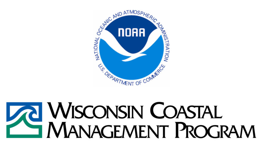 NOAA and WCMP logos